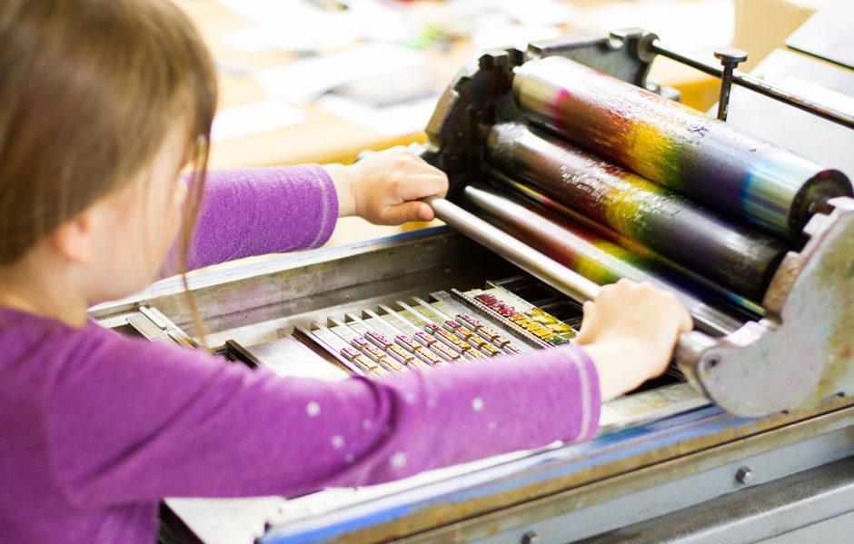 Kinderdruckwerkstatt AWO Halle Merseburg