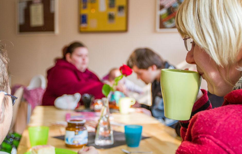 Familiencafe AWO Halle Merseburg